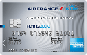 American Express Flying Blue Silver