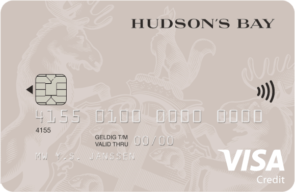 hudson bay credit card how to pay