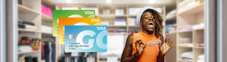 Eerste Visa prepaid creditcard voor mensen met laag inkomen