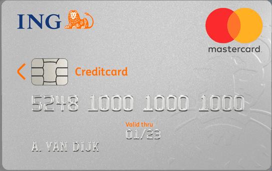 Ing online credit card