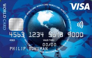 Visa worldcard 300x192