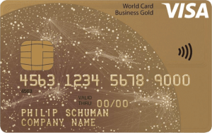 Visa World Card Business Gold