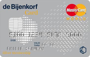 de Bijenkorf Silver Card