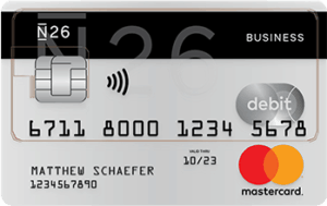 N26 Business Mastercard