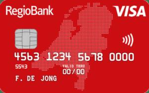 RegioBank Jongeren Creditcard